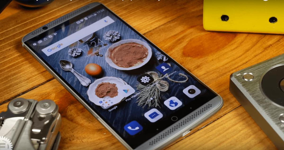 ZTE Axon 7 обзор смартфона