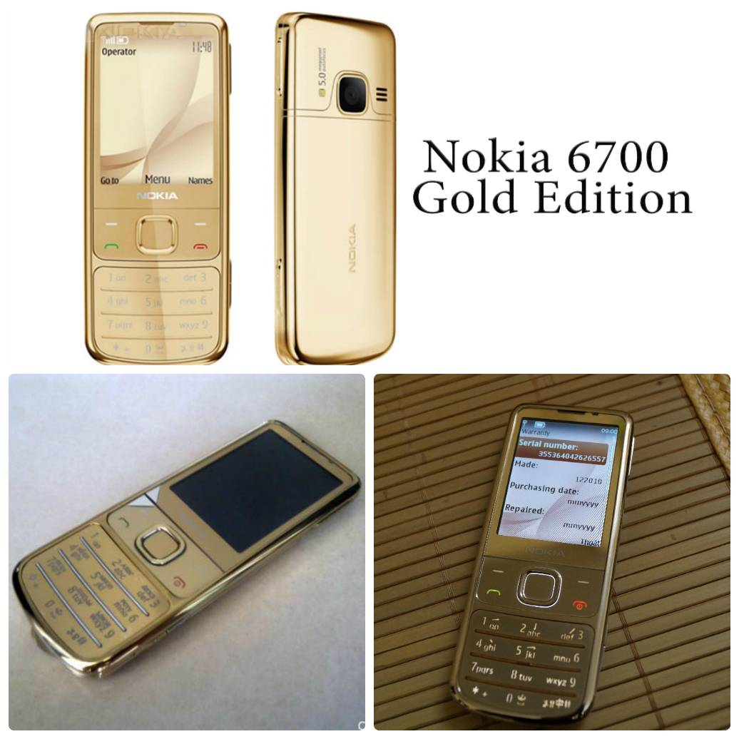 nokia 6700 gold edition