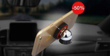 магнитный держатель для телефона в автомобиль smartmount car